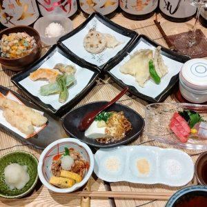 天ぷら竹の庵 東銀座店のランチコース