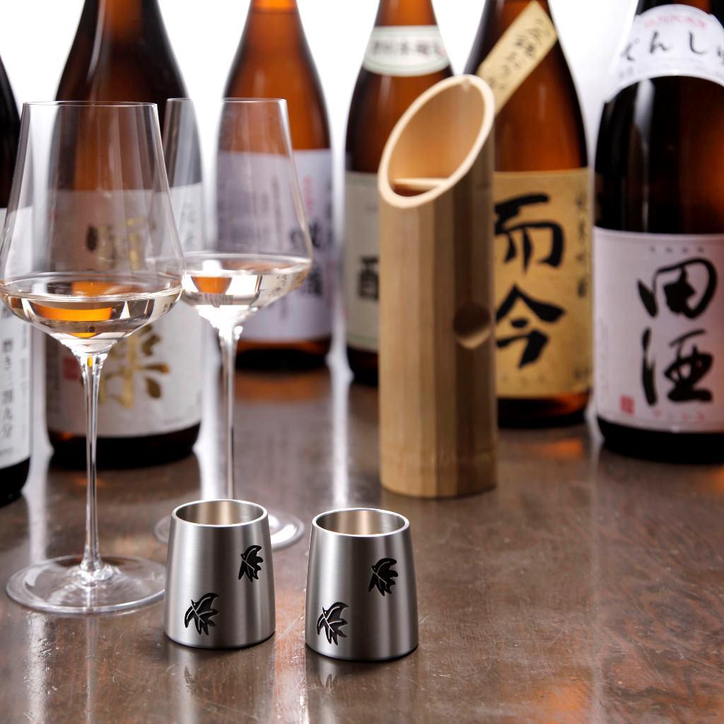 天ぷら竹の庵 東銀座店に旬の日本酒が入荷しました
