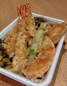 天ぷら竹の庵 東銀座店ではテイクアウトできるお弁当をご用意してます
